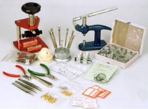narzędzia zegarmistrzowskie